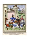 Men Travelling 1389 Giclee Print