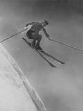 Athletic Skier Fotoprint