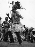 Malawi Dancers Photographic Print
