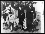 Jews in Ghetto Photographic Print