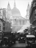 Ludgate Hill 1930S Photographic Print