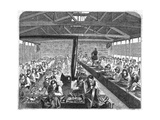 Tailors' and Shoemakers' at Coldbath Fields Prison Giclee Print