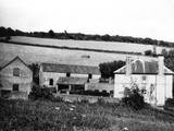 Devonshire Farmhouse Photographic Print