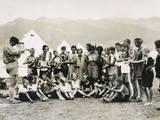 Swiss Holiday Camp Photographic Print