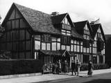 Shakespeare's Birthplace Photographic Print