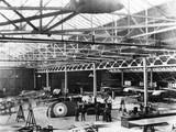 WW1 - British Aircraft Factory Photographic Print