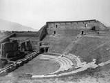 Teatro Maggiore, Pompeii Photographic Print