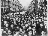 Jewish Demo, Lodz, 1933 Photographic Print