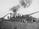 WW1 - Heavy Artillery - French 40Cm Railway Guns Photographic Print