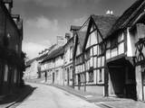 Tudor Houses Photographic Print