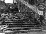 Neath Abbey Night Stairs Photographic Print