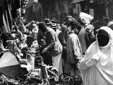 Native Quarter, Tunis Photographic Print