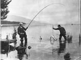 New Zealand Fishermen Photographic Print