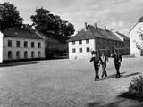 Oslo Castle Guards Photographic Print