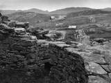 Iron Age Houses Photographic Print