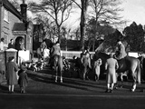 Ashford Valley Hunt Meet Photographic Print