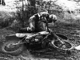Motocross Scrambling Reprodukcja zdjęcia