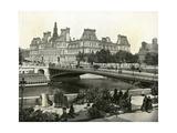 Paris, France - Hotel de Ville Giclee Print