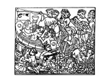 Medieval Frolics: Wine, Women and Song Giclee Print