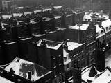Snowy Rooftops Photographic Print