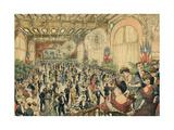 Soiree Dansante 1903 Giclee Print