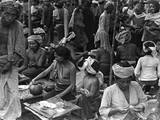 Bali Market Traders Photographic Print
