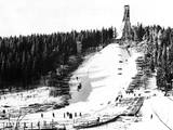 Holmenkollbakken Skiing Photographic Print