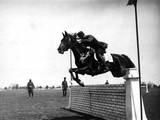 Roumanian Horse Show Photographic Print