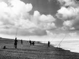 Norfolk Sea Anglers Photographic Print