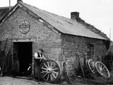 Wheelwright's Barn Shop Photographic Print