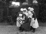 Marie Curie Nurses Photographic Print