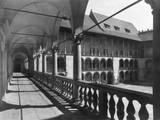 Krakow Castle Arcades Photographic Print