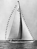 'Flica' Yacht Photographic Print