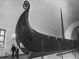 Viking Longship Photographic Print