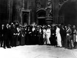 Suffrage Delegation, 1914 Photographic Print