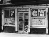 Empty Shop Front Photographic Print