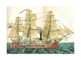 Auxiliary Steamship Giclee Print