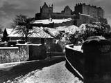 Edinburgh in Winter Photographic Print