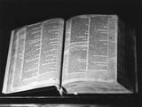 'Breeches' Geneva Bible Photographic Print
