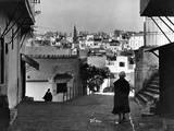 Tangier Street Scene Photographic Print