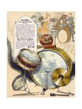 Wurlitzer Drums Giclee Print