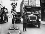 Traffic Police Photographic Print