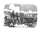 Battle of Springfield Giclee Print