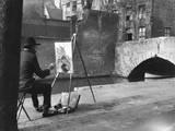 Bruges Artist Photographic Print