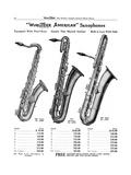 Saxophones, Wurlitzer Giclee Print