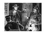 American Train Robbery Giclee Print
