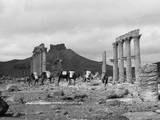 Temple Ruins, Palmyra Photographic Print
