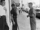 American Policeman Photographic Print