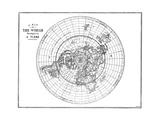 Flat Earth Giclee Print