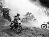 Motocross Scrambling Reproduction photographique